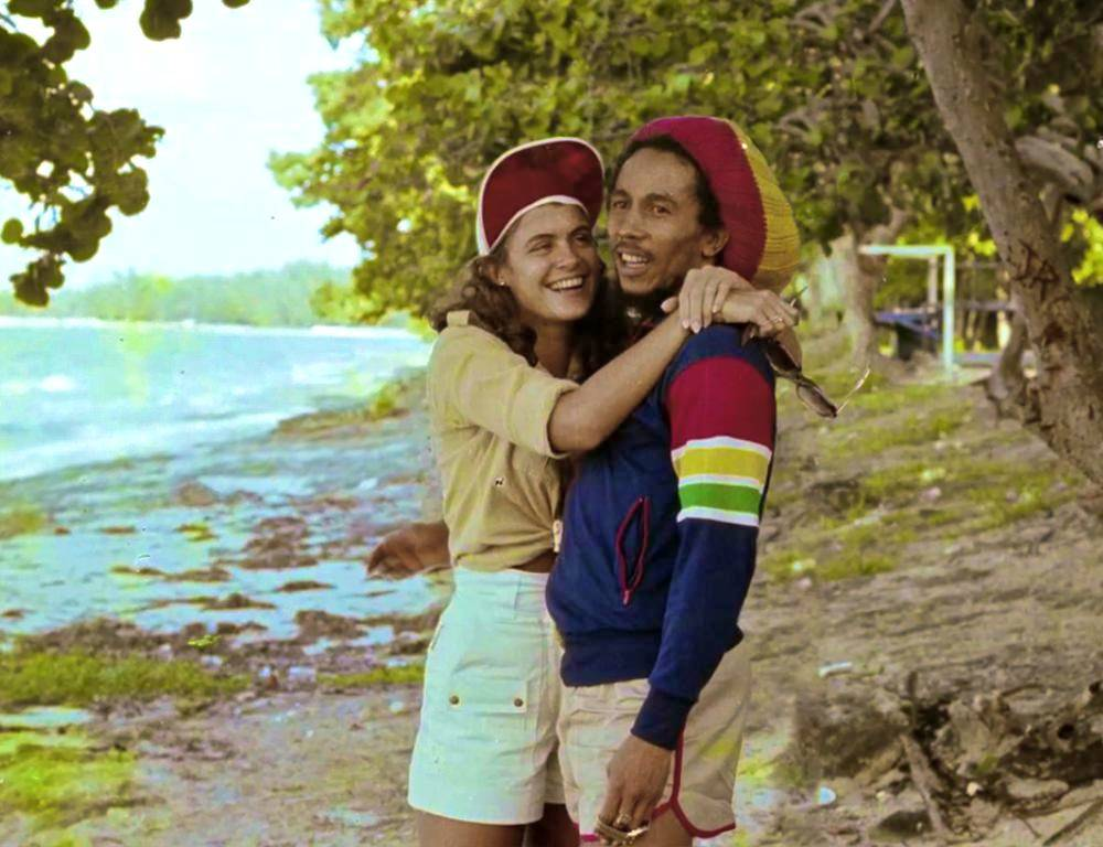 Bob marley with Cindy Breakspear