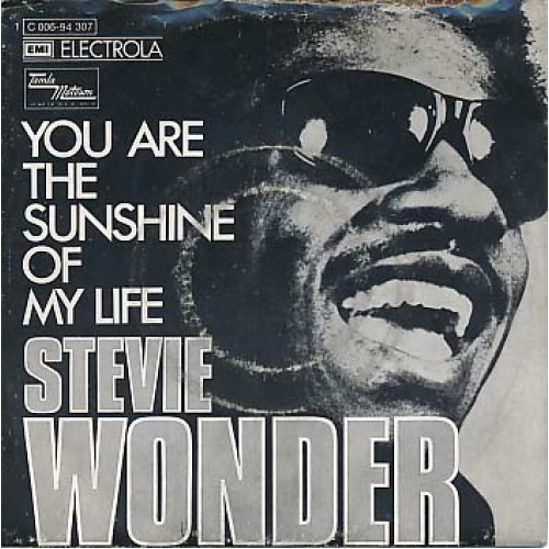 You Are the Sunshine ff my Life Stevie Wonder